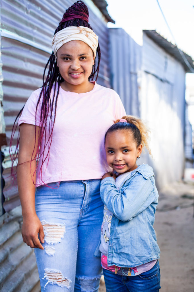 Ladonna and her daughter Isabella