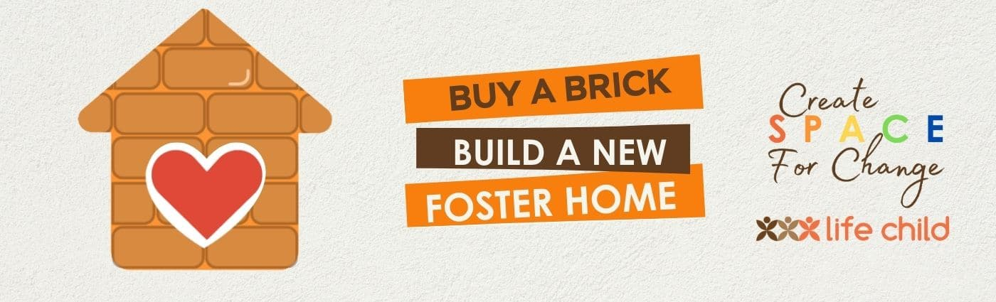 Buy a brick build a new foster house